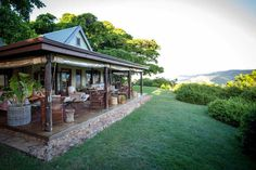 Luxury mountain-side accommodation at Camp Figtree, Addo National Park