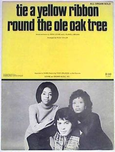 "Tony Orlando Dawn ""Tie a Yellow Ribbon Round the Ole Oak Tree"" (1973)"