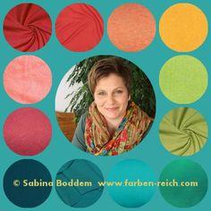 Frühlingstyp #FrühlingHerbstMischtyp Herbsttyp Sommertyp Sommer-Winter-Mischtyp Wintertyp www.farben-reich.com
