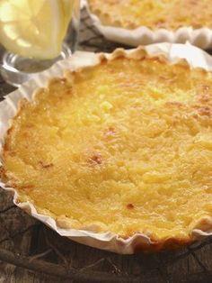 Tarte au citron facile - Recette de cuisine Marmiton : une recette