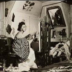 Argentine painter Leonor Fini