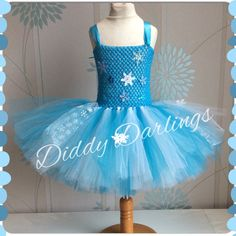 Elsa Tutu Dress. Elsa Dress. Frozen Tutu Dress. Queen Dress. Party Dress. Princess Tutu Dress. Anna Dress. Costume.  Beautiful & lovingly handmade.  Price varies on size, starting from £25.  Please message us for more info.  Find us on Facebook www.facebook.com/DiddyDarlings1 or our website www.diddydarlings.co.uk