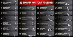 Bikram Yoga 26 Poses