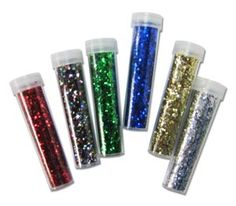 Glitter tubes, had lots of fun projects with them.