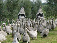 Il Giardino di Daniel Spoeri a Seggiano