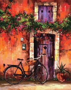Provence (2006) - 39 x 31 Giclee on Canvas Edition of 100