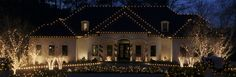 Holiday Lighting Services in Richmond, VA | Christmas Light Installers | INARAY