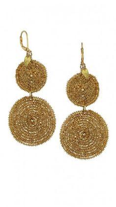 Sunlight Earrings Slim - Gold