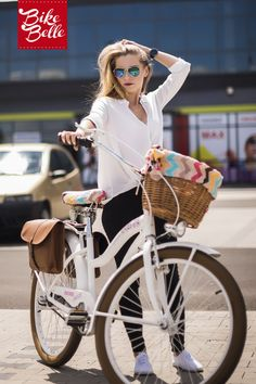 Be a #belle on a #bike equipped with #stylish colourful accessories!