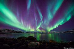 Skulsfjord Tromsø, Norway (by Ronny Mikkelsen)