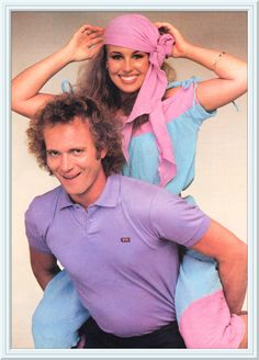 """Anthony Geary and Genie Francis BKA Luke and Laura from """"General Hospital"""" Soap Opera Stars, Soap Stars, Tony Geary, Laura Spencer, Genie Francis, Luke And Laura, Medical Drama, Tv Soap, Guinness World"""