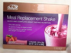 13 Advocare Meal Replacement Shakes Berry Flavor Trim