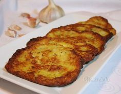 Cuketové placky Slovak Recipes, Vegetarian Recipes, Cooking Recipes, Banana Bread, French Toast, Good Food, Food And Drink, Pizza, Sweets