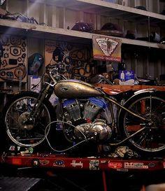 Bobber Inspiration | Harley racer | plutoniumrain June 2014