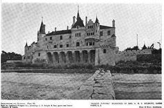 'Beacon Towers', the Alva Smith Vanderbilt Belmont estate designed by Hunt & Hunt c. 1917 in Sands Point. One of Alva's numerous estates, the residence was later sold to William Randolph Hearst and eventually demolished in the 1940s.