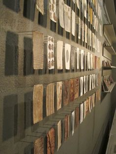 Dorothy Caldwell Collecting cards  (journal); Photo © Karen Thiessen, 2014   In her 2003 In Good Repair  solo exhibition at the Textile Mu...