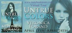 Born to Read Books: TASTY VIRTUAL TOUR~UNTRUE COLORS~VERONICA FORAND