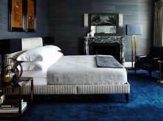 Grasscloth. FORLAB: Dormitorios