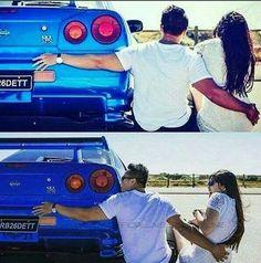 Nissan Gtr R34, R34 Gtr, Nissan Gtr Skyline, Funny Car Memes, Car Humor, Truck Memes, Initial D Car, Electric Motor For Car, Tuner Cars