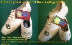 Want to win a free pair of College Kicks? Here's how!