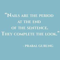 We love nails!