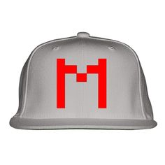 Markiplier Embroidered Snapback Hat