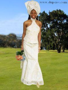 african wedding dresses   african wedding dresses new traditional african wedding attire project ... South African Wedding Dress, African Wedding Attire, South African Weddings, African Wear, African Dress, African Fashion, African Style, African Beauty, Renewal Wedding