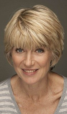 Now Selina Scott sets sights on BBC: Hairstyles Over 50, Bob Hairstyles, Wedding Hairstyles, Short Haircuts, Short Hair Cuts For Women, Short Hair Styles, Short Shaggy Bob, Grey Hair Transformation, Page Boy