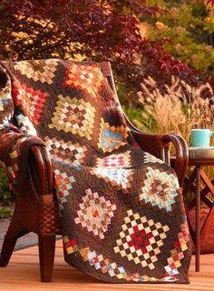 Granny Squares by Lissa Alexander (no tutorial) by wanda.m.feldman