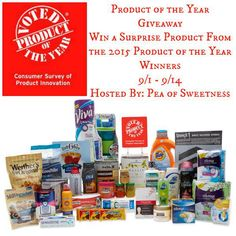 Product of the Year Giveaway