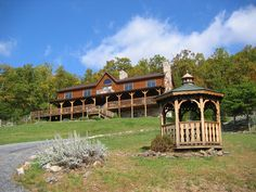 The North Fork Mountain Inn in Cabins, West Virginia is located in the Monongahela National Forest.