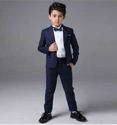 Find More Suits Information about 2015 Boys Suits for Weddings 2015 Navy Blue…
