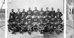 St. Paul Normal Industrial School Football Team c. 1930. Click for more historic photos of high school and college football teams