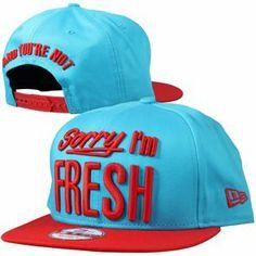 87985b983dd nouveauté 2014 New Era - Sorry IM Fresh New Era Cap Vice Blue H Red