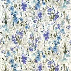 Smart designer fabric and a perfect choice for drapery and upholstery from the 'Ingrid' design style range by Warwick Floral Curtains, Floral Fabric, Satin Fabric, Roll Blinds, Warwick Fabrics, House Blinds, Textiles, Chair Upholstery, Curtain Fabric