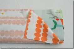 Pillowcase Tutorial 10...burrito style