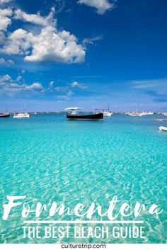 The Best Beach Guide To Formentera, Spain. Oh The Places You'll Go, Places To Travel, Places To Visit, Menorca, Formentera Spain, Famous Lighthouses, Spain Travel, Ibiza Travel, Moraira