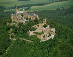 The aptly named stronghold of the House of Hohenzollern in Baden-Württemberg, Germany – the Hohenzollern Castle is most striking because of its Disney-esque architecture. In fact its current façade was inspired by the English Gothic revival and commissioned by King Frederick William IV of Prussia between 1846 and 1867.
