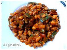 Recetas Light - Adelgazaconsusi: Alubias con salsa de tomate
