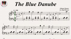The Blue Danube - Johann Strauss, Piano https://youtu.be/Z8LAN-KW88s