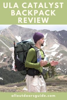 The ULA Catalyst backpack is a common sight among Pacific Crest and Appalachian Trail hikers. Backcountry guides also find it necessary for their extra equipment storage. However, what makes it a hack for all your thru-hikes, mountaineering expedition and weekend warrior lifestyle?