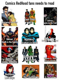 Jason Todd comics you need to read by Jasontodd1fan - visit to grab an unforgettable cool 3D Super Hero T-Shirt!