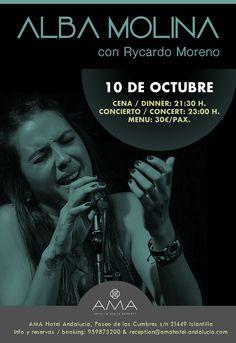 Concierto Alba Molina Sábado 10 de Octubre