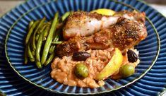 Græsk kylling - alt i et fad og lavet på max 10 minutter - Dagens tallerken