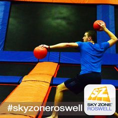Have a blast this weekend with some Sky Zone Dodgeball! #skyzoneroswell #skyzone #fun #jump #roswell #georgia #igers #bounce #kids #teenagers #trampoline #play #fitness #health #foampit #exercise #openjump #exercise #gymnastics #tumbling #workout #fit #fitness #trampoline  #birthdayparty
