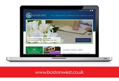 Website design www.bostonwest.co.uk for hotels in Boston Lincolnshire