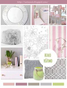 Inspiracje dla pięknego domu: kolaż konkursowy z produktami ze sklepu Decolor.pl; autor: Urszula Buczek
