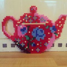Vous prendrez bien un petit thé en perles Hama ?