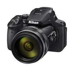 Nikon Coolpix Digital Camera with Optical Zoom Nikkor Super Ed VR Lens -Built-In Wi-Fi Nikon P900, Nikon Coolpix, Nikon F6, Super Telephoto Lens, Cameras Nikon, Point And Shoot Camera, Cmos Sensor, Digital Trends, Zoom Lens