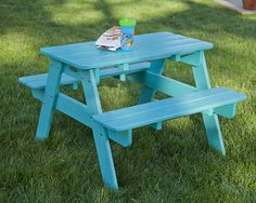 POLYWOOD Kids Collection - adorable, pint-sized versions of POLYWOOD Outdoor Furniture.